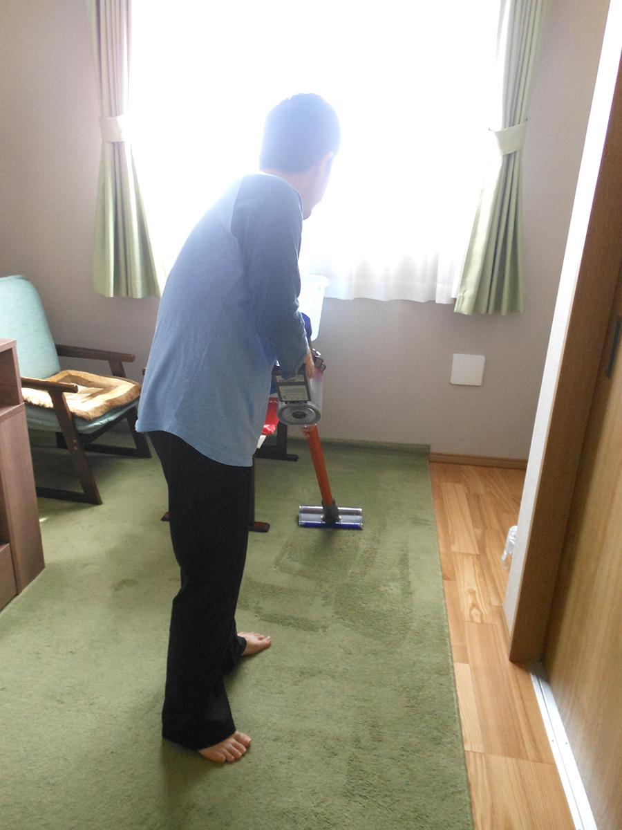 お掃除の様子